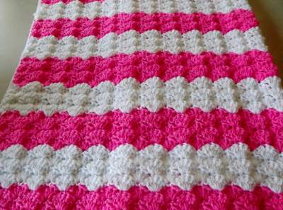 Crochet Patterns J Hook : Free Crochet Baby Afghan and Blanket Patterns